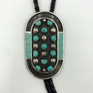 Native American Turquoise Bolo by Jobeth Mayes